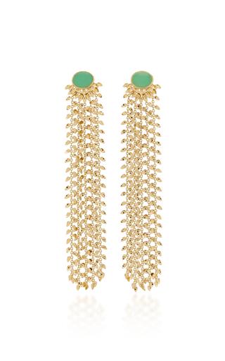 Carla Amorim 100 Leaves Earrings In Gold