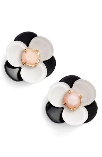 Kate Spade Pick A Posy Stud Earrings In Neutral Multi