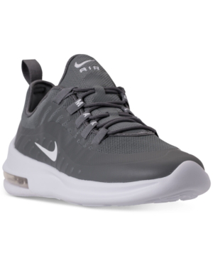 Men's Air Max Axis Casual Sneakers From Finish Line in Cool GreyWhite