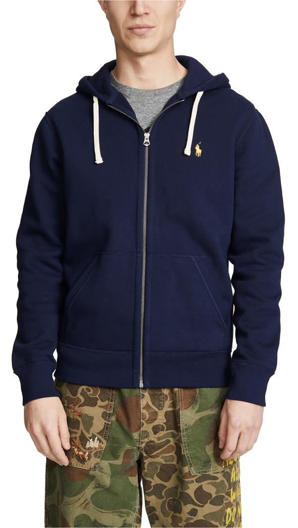 NEW Men 2-Piece Soft Fleece Black Sweatsuit Leather Pockets Hoodie L-2X FHP-5075