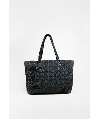 5b8a3480b38 Chanel 1 Blue Multicolor Quilted 'Cc'