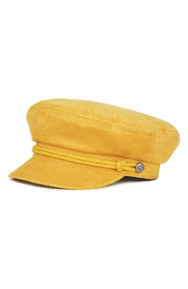 sports shoes e7146 0b87d Brixton Ashland Fisherman Cap In Yellow   ModeSens