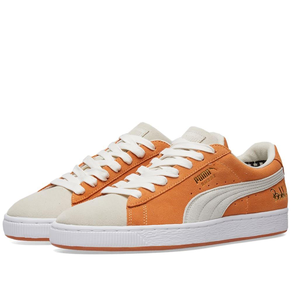 c4814d9b49d Puma X Bobbito Suede Classic in Orange