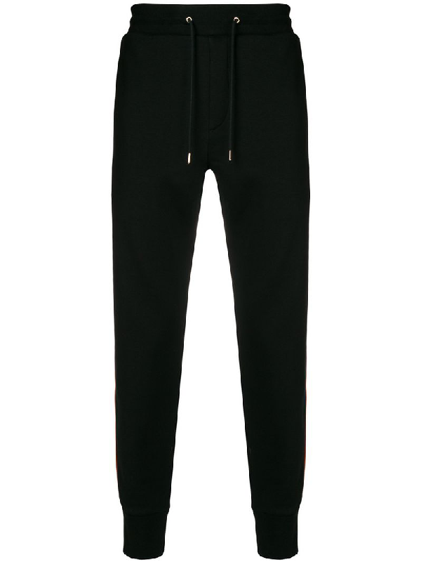 8411407cd Paul Smith Side-Stripe Tapered-Leg Cotton Track Pants In Black ...