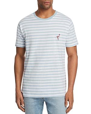 18b81514ed Striped Flamingo Tee - 100% Exclusive in Embro Blue Stripe