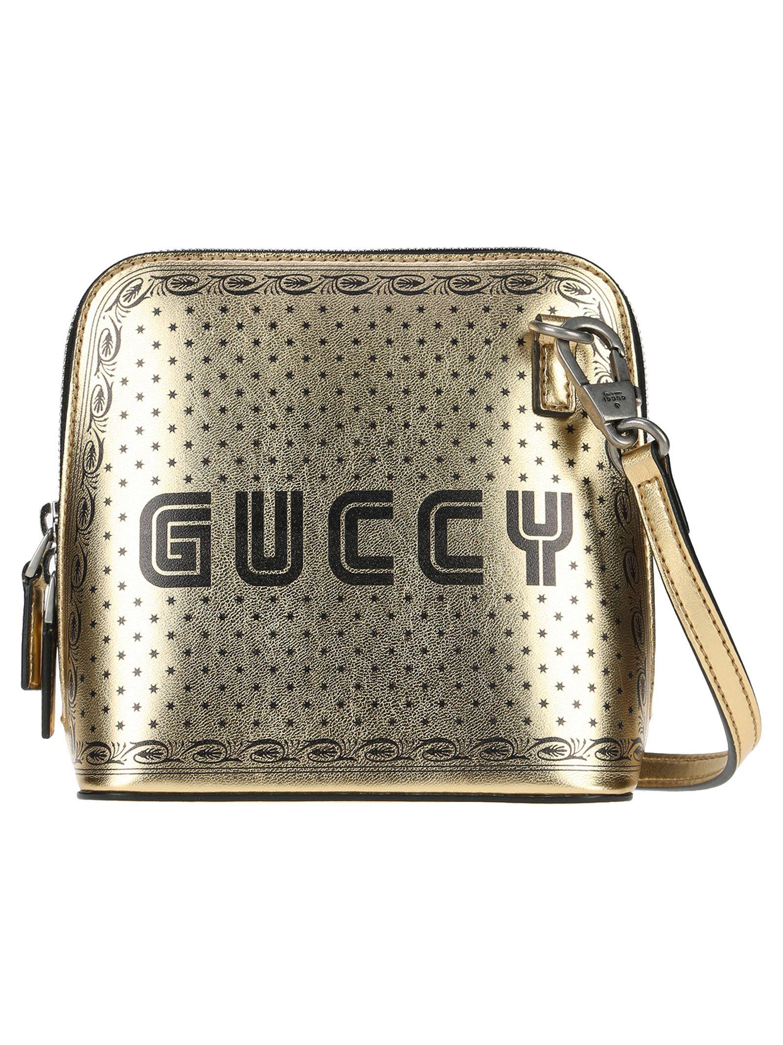 594e36a540 Gucci Crossbody Guccy In Gold | ModeSens