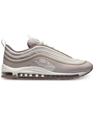 Men's Air Max 97 Ul 2017 Running Sneakers From Finish Line in Sepia StoneDesert Sand S