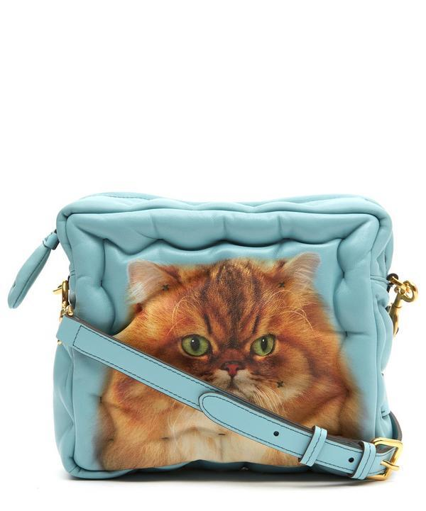 9ac832623 Anya Hindmarch Chubby Cat Bag In Blue | ModeSens