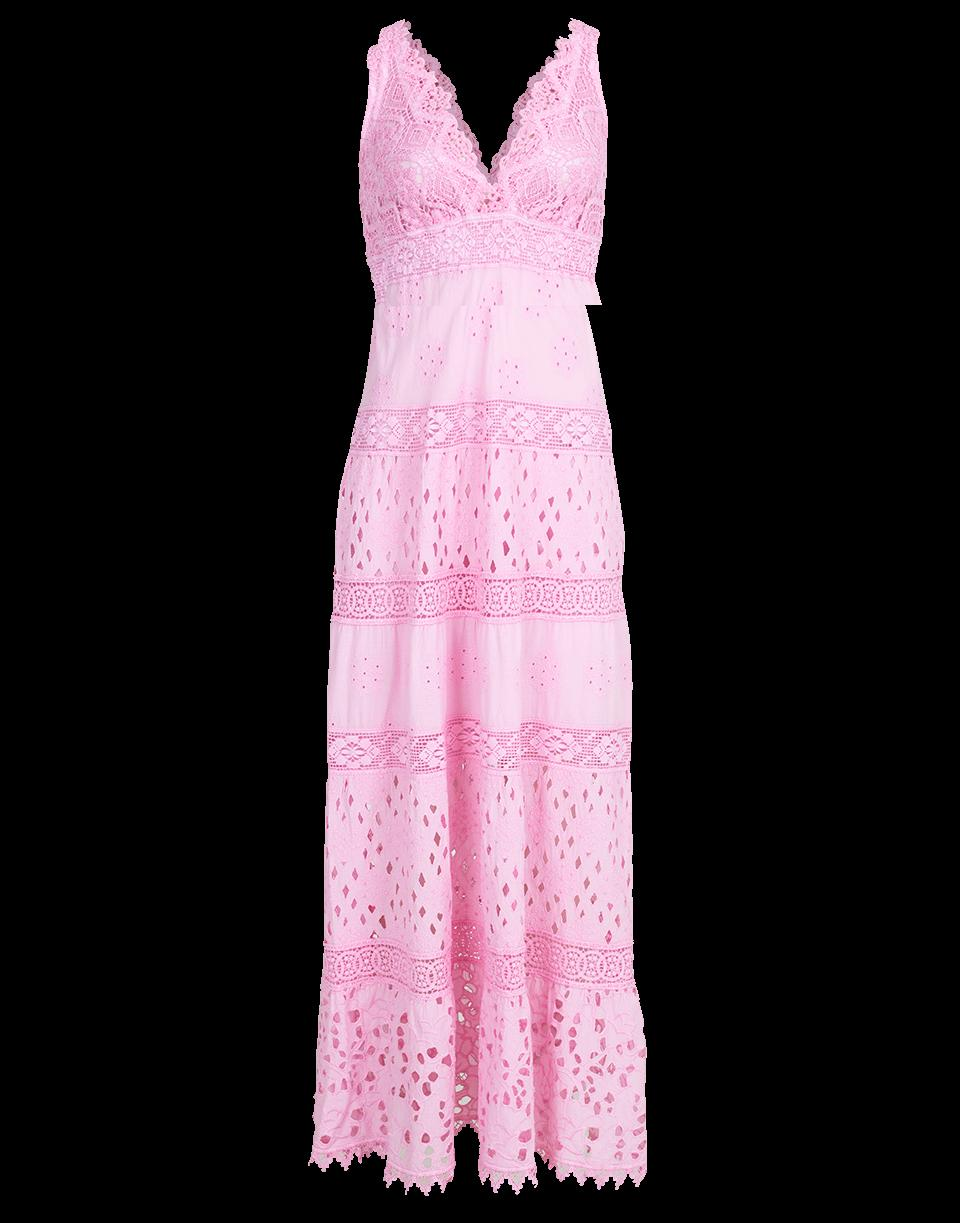 aa57b7c0f38e Temptation Positano Papua Lace Maxi Dress In Rosa   ModeSens