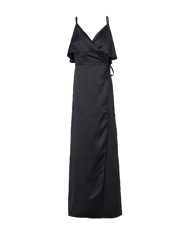 AdorÉe Long Dress In Black
