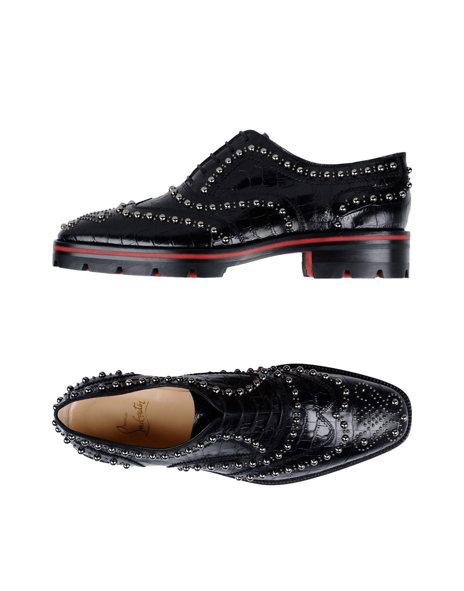 daecc448b29 Lace-Up Shoes in Black