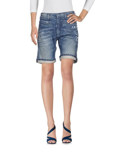 Neil Barrett Denim Shorts In Blue