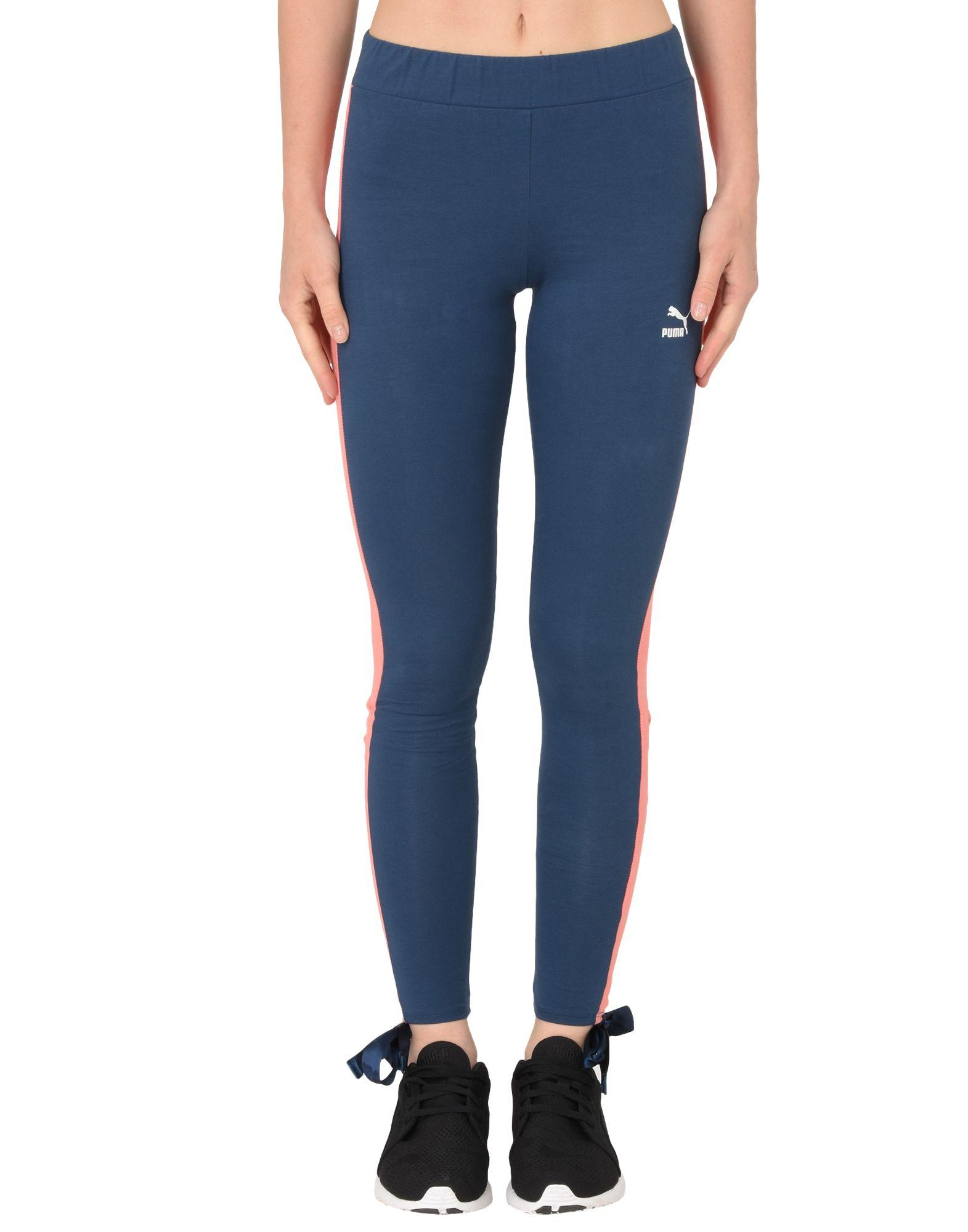 Puma Athletic Pant In Blue
