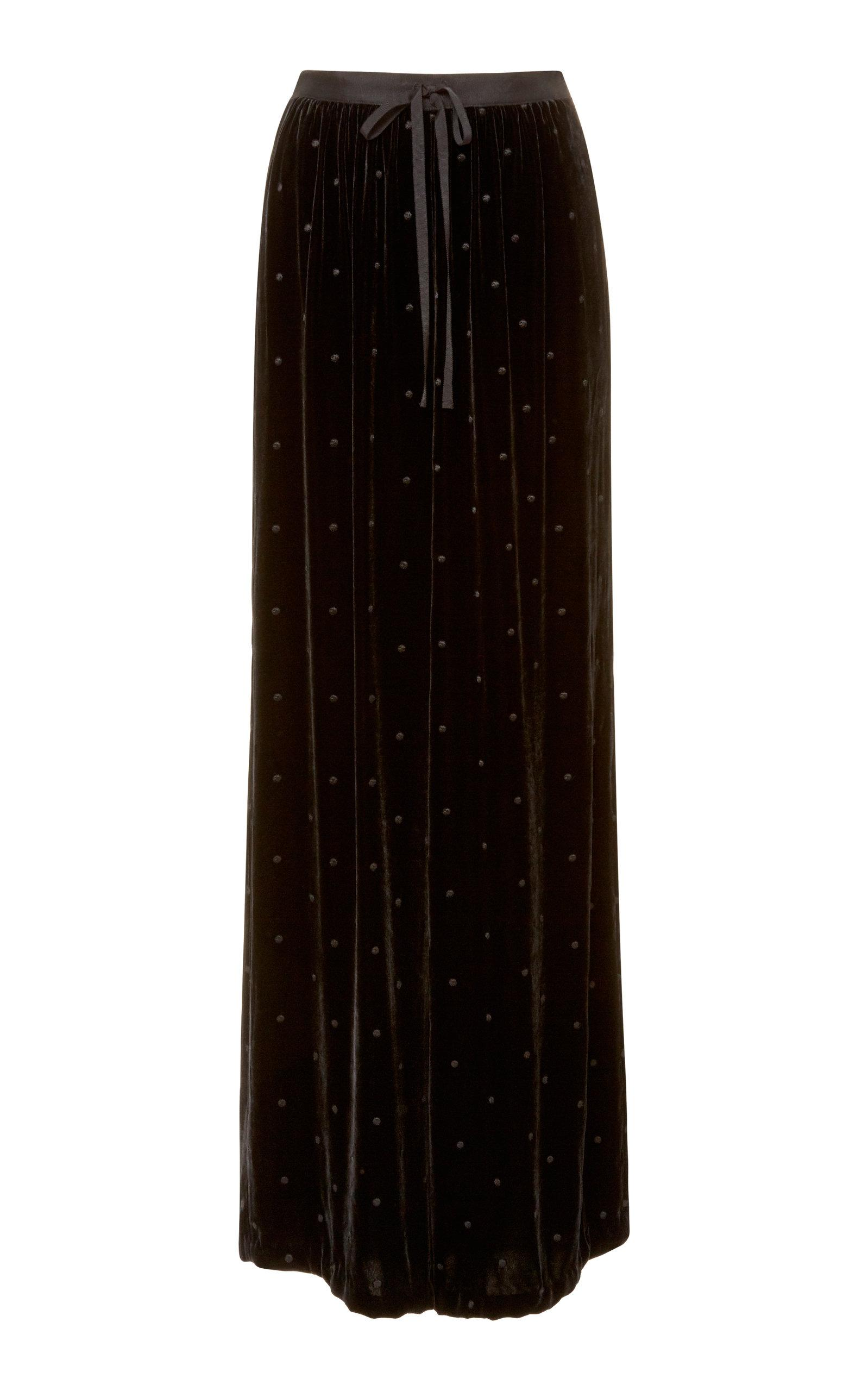 Ulla Johnson Maia Wide Leg Pant In Black