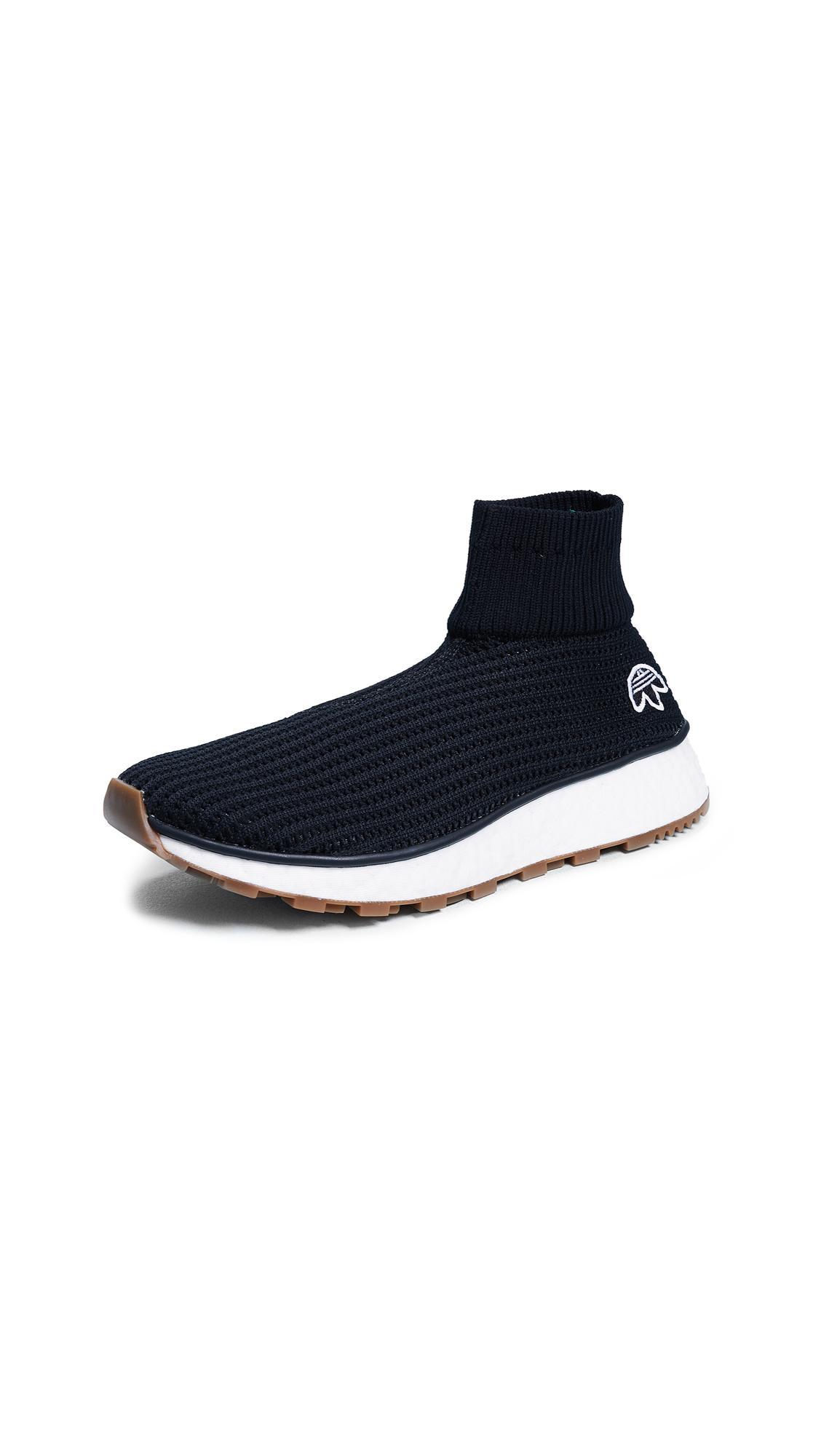 super popular 580e9 00ac9 Adidas Originals By Alexander Wang Aw Run Clean Joggers In Core BlackCore  Black