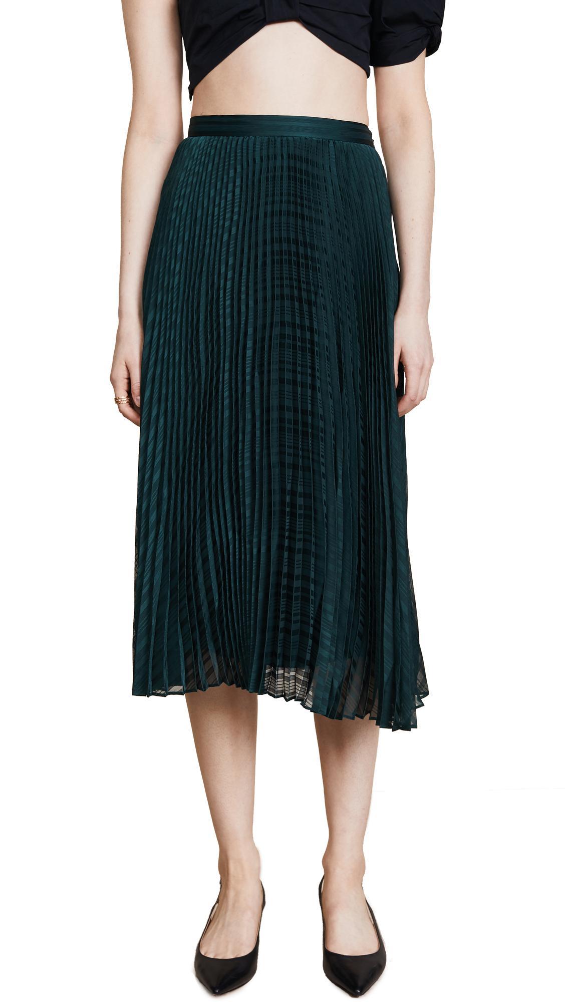 f618bf809b Club Monaco Behtina Skirt In Palm Green   ModeSens