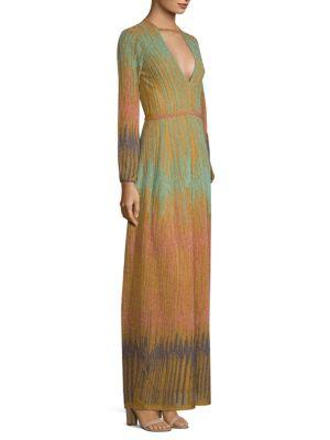 b94320e0e522 M Missoni Lurex Devore Maxi Dress In Mint