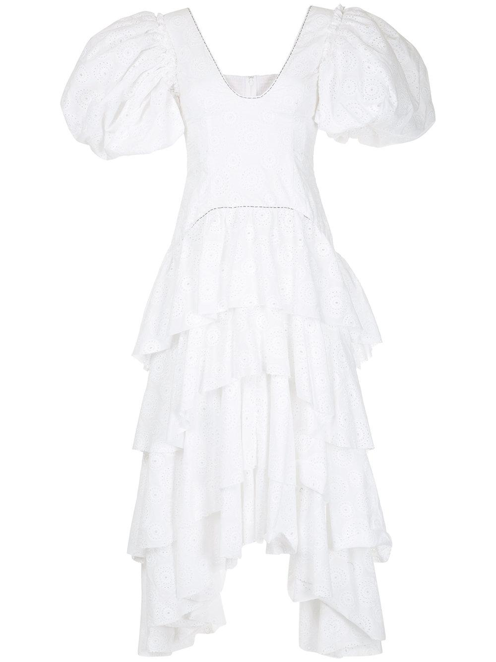 Aje Utopia Dress - White