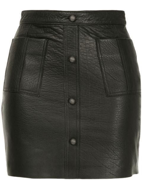 Aje Shrimpton Mini Skirt In Black
