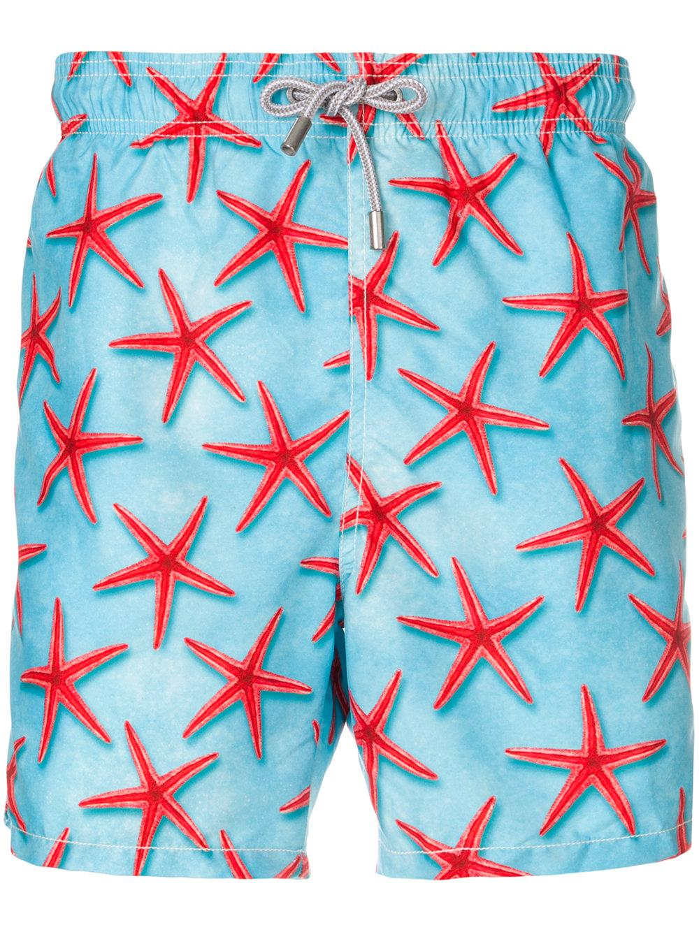 bbac2a5353 Mc2 Saint Barth Starfish Print Swim Shorts - Blue | ModeSens