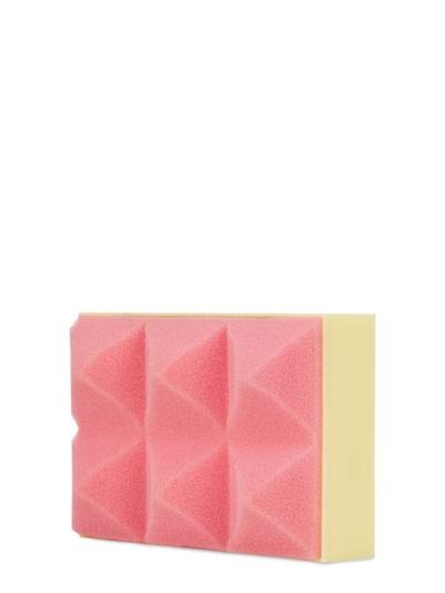 Mary Katrantzou Foam & Perspex Clutch, Pink/Yellow