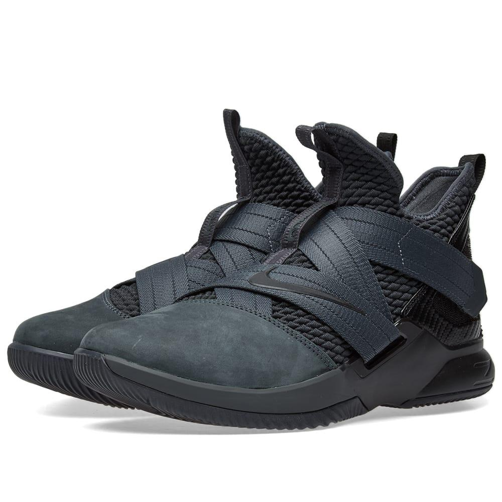 new arrivals 3295c 6cdba Nike Lebron Soldier Xii Sfg in Black