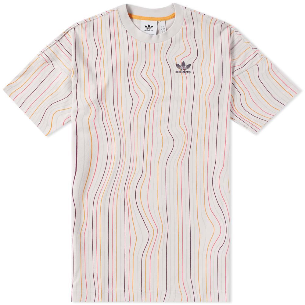 Men's adidas Originals Multi Logo T Shirt