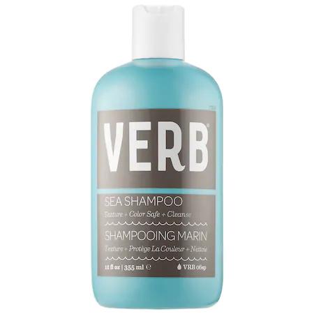 Verb Sea Texture Shampoo 12 oz/ 355 ml In Blue