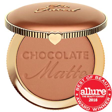 Too Faced Chocolate Soleil Matte Bronzer Chocolate Soleil 0.28 oz/ 8 G