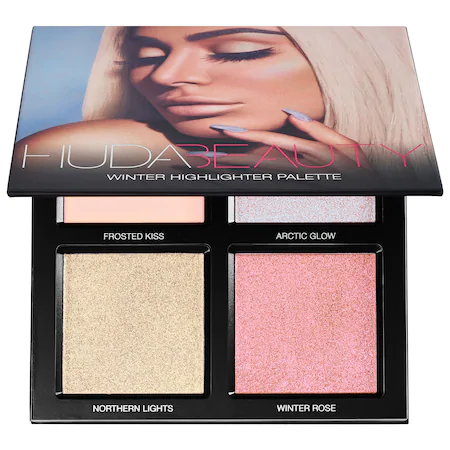 Huda Beauty Highlighter Palette - Winter Solstice Palette 1 oz/ 28.5 G