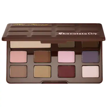 Too Faced Matte Chocolate Chip Eyeshadow Palette - Chocolate Chip