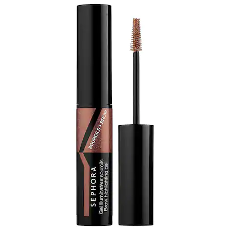 Sephora Collection Brow Highlighting Gel 04 Deep/bronze 0.12 oz/ 3.6 ml
