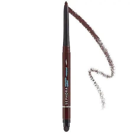 Sephora Collection Retractable Waterproof Eyeliner 10 Matte Brown Black