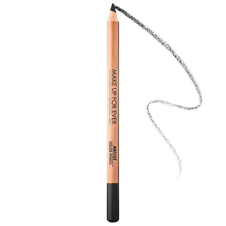 Make Up For Ever Artist Color Pencil: Eye, Lip & Brow Pencil 100 Whatever Black 0.04 oz/ 1.41 G