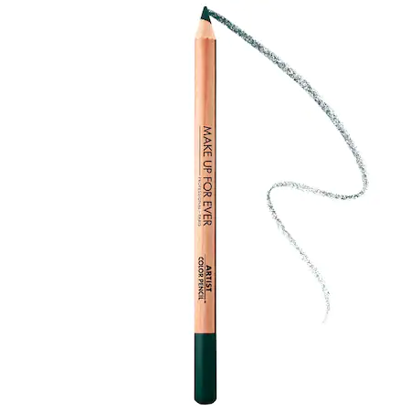 Make Up For Ever Artist Color Pencil: Eye, Lip & Brow Pencil 300 Absolute Emerald 0.04 oz/ 1.41 G