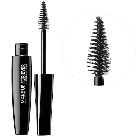 Make Up For Ever Smoky Extravagant Mascara Standard Size Black - 0.23 oz/ 6.8 ml