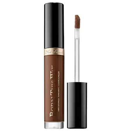 Too Faced Born This Way Naturally Radiant Concealer Very Deep 0.23 oz/ 6.8 ml