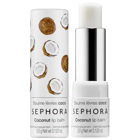 Sephora Collection Lip Balm & Scrub Coconut 0.123 oz/ 3.5 G
