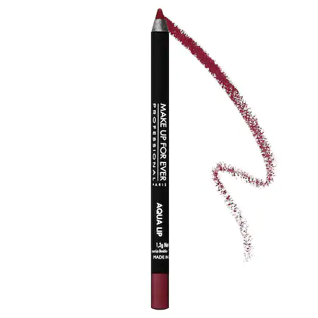 Make Up For Ever Aqua Lip Waterproof Lipliner Pencil 11c Matte Dark Raspberry 0.04 oz/ 1.2 G