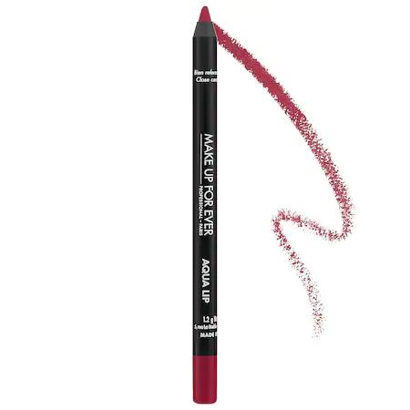 Make Up For Ever Aqua Lip Waterproof Lipliner Pencil 19c Pomegranate Pink 0.04 oz/ 1.2 G