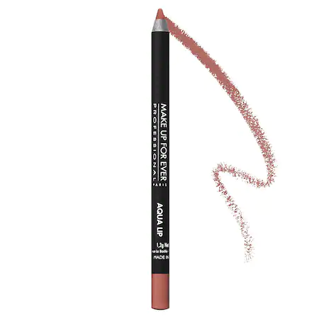 Make Up For Ever Aqua Lip Waterproof Lipliner Pencil 3c Medium Natural Beige 0.04 oz/ 1.2 G