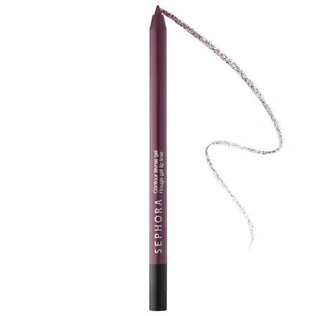 Sephora Collection Rouge Gel Lip Liner 14 Aubergine Dream 0.0176 oz/ 0.5 G