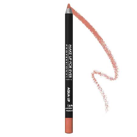 Make Up For Ever Aqua Lip Waterproof Lipliner Pencil 1c Nude Beige 0.04 oz/ 1.2 G