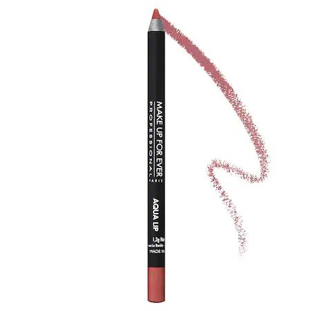 Make Up For Ever Aqua Lip Waterproof Lipliner Pencil 2c Rosewood 0.04 oz/ 1.2 G