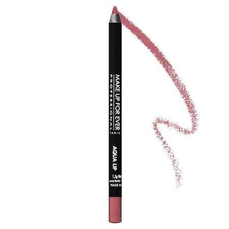 Make Up For Ever Aqua Lip Waterproof Lipliner Pencil 14c Light Rosewood 0.04 oz/ 1.2 G