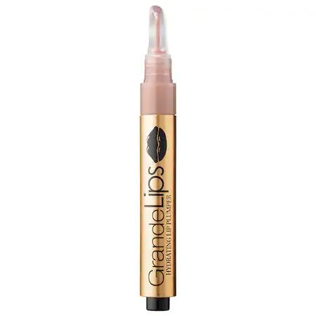 Grande Cosmetics Grandelips Hydrating Lip Plumper Gloss Cashmere Buff 0.084 oz/ 2.48 ml