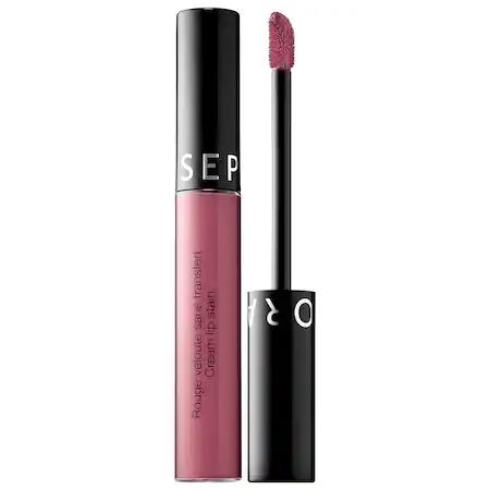 Sephora Collection Cream Lip Stain Liquid Lipstick 83 Cinder Rose 0.169 oz/ 5 ml
