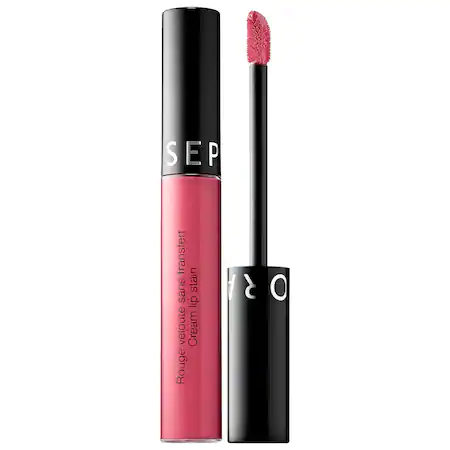 Sephora Collection Cream Lip Stain Liquid Lipstick 85 Rose Wood 0.169 oz/ 5 ml