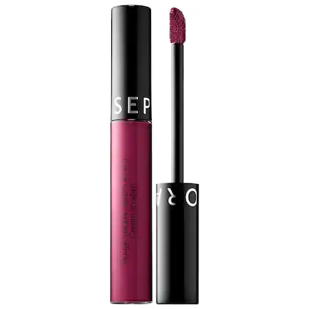 Sephora Collection Cream Lip Stain Liquid Lipstick 99 Purple Red 0.169 oz/ 5 ml