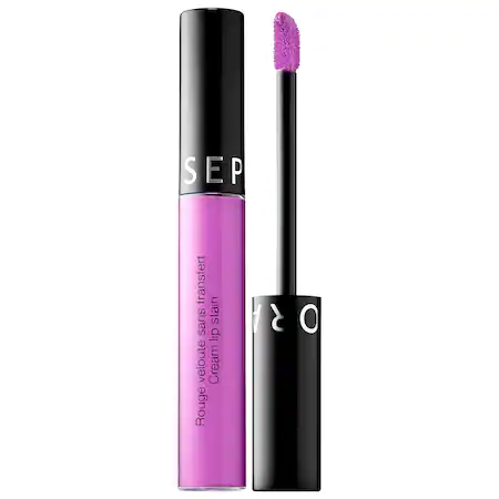 Sephora Collection Cream Lip Stain Liquid Lipstick 102 Lavender Purple 0.169 oz/ 5 ml